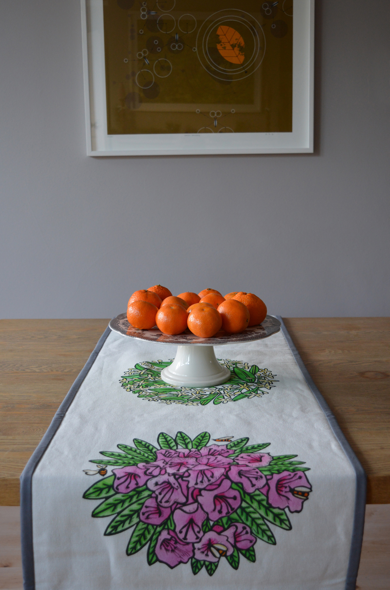 Lombardia Textile Table Runner