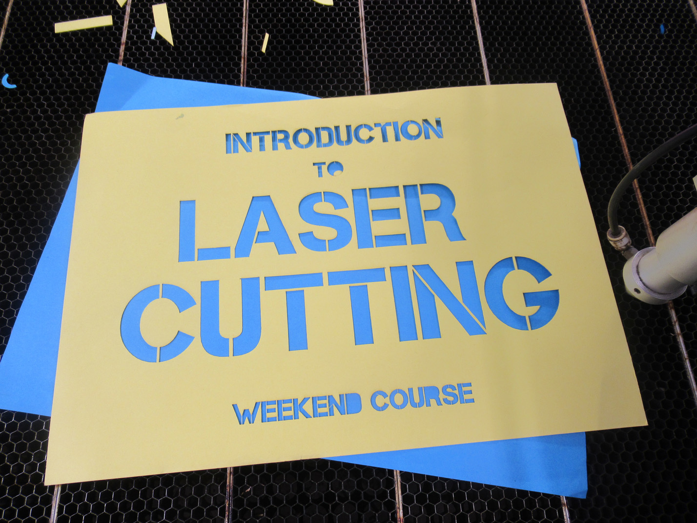 Introduction to Laser Cutting 29th & 30 Nov
