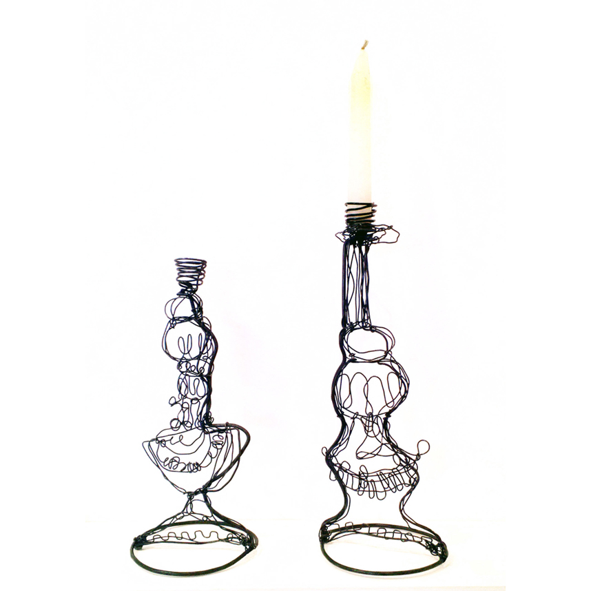 Agnes Jones Blacksmith Candlesticks+