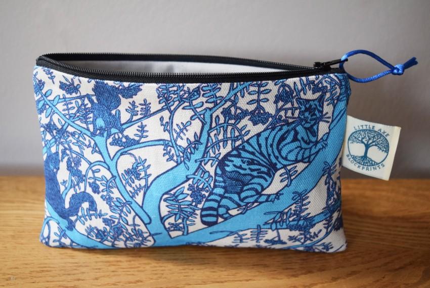 Little Axe Wild Cat Zip Bag