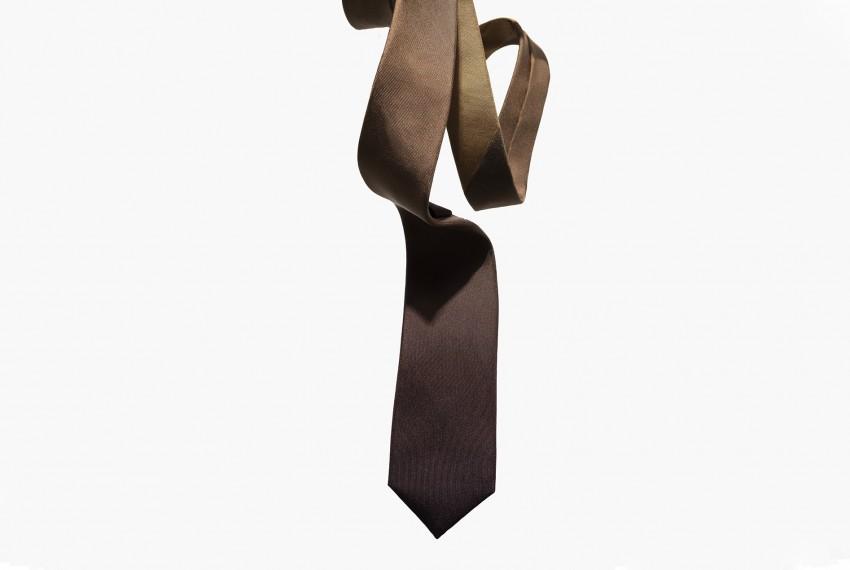 Niki Fulton Peat Silk Tie