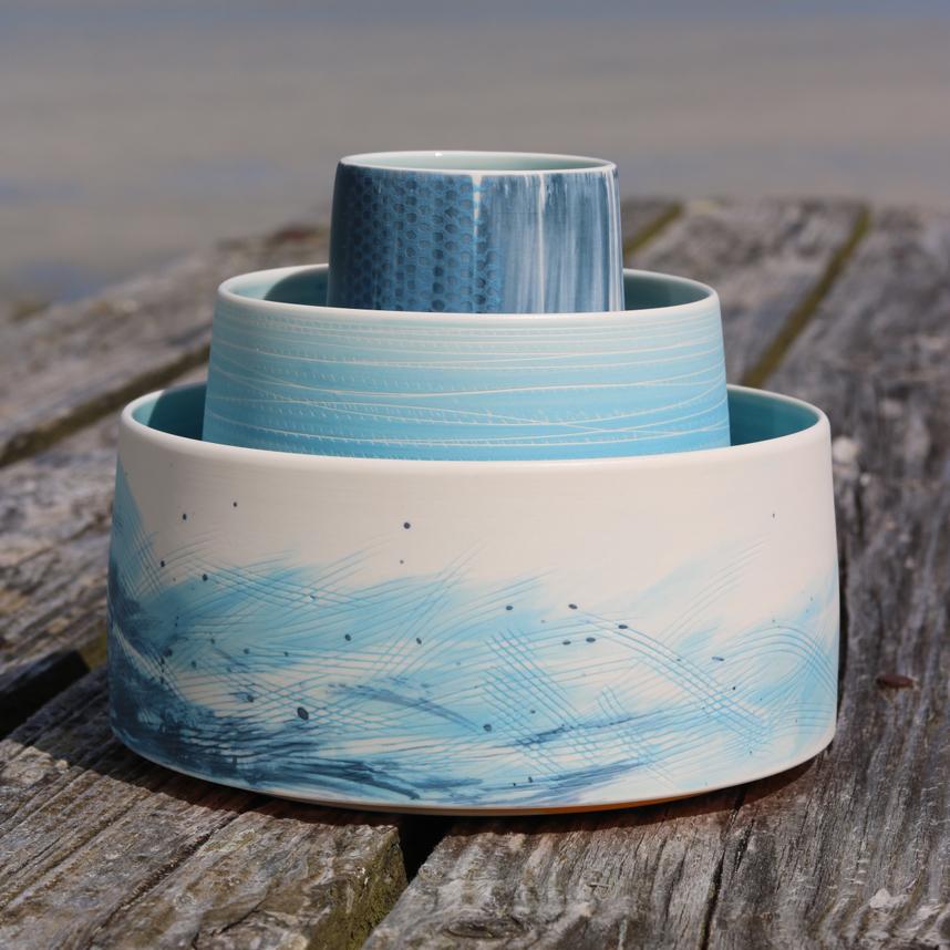The Cloud Pottry - Set of pots