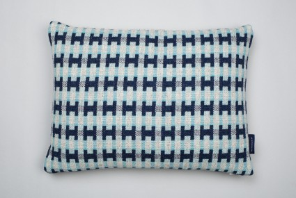 Heather Shields Mono Cushion Sea