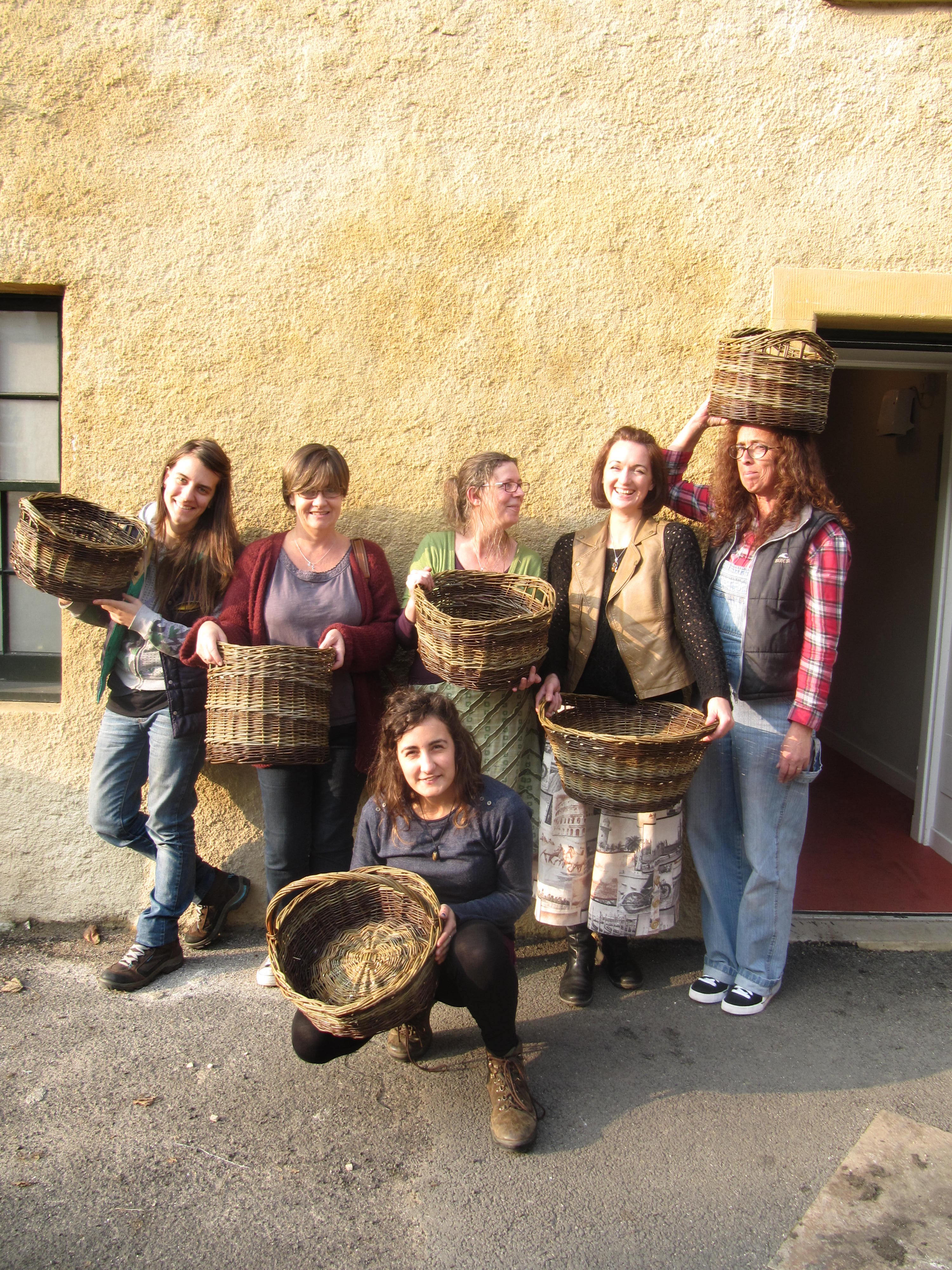 Basketmaking Course for Beginners and Improvers - Two Days
