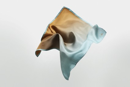 Niki Fulton Salk Silk Neckerchief / Pocket square