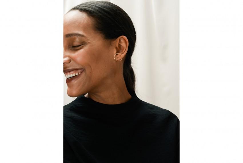 Ruth Leslie Circle Earrings