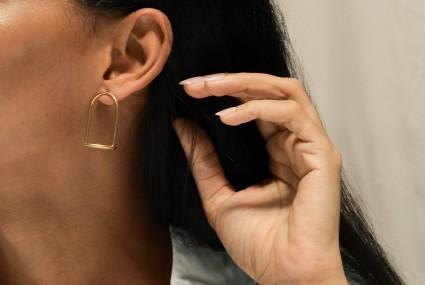Ruth Leslie Bell Jar Earrings