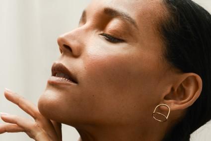 Ruth Leslie Mini Bell Jar Earrings Gold