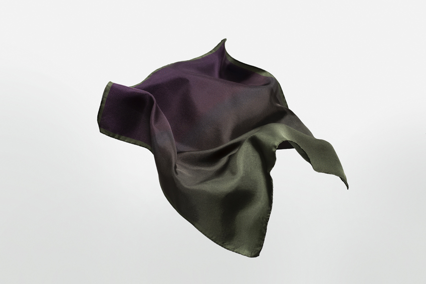 Niki Fulton Rock Silk Neckerchief/Pocket Square