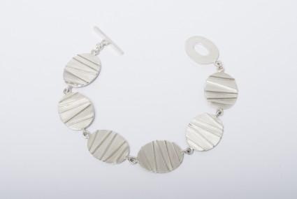 Tracy Wilson Contrast Bracelet Sterling Silver