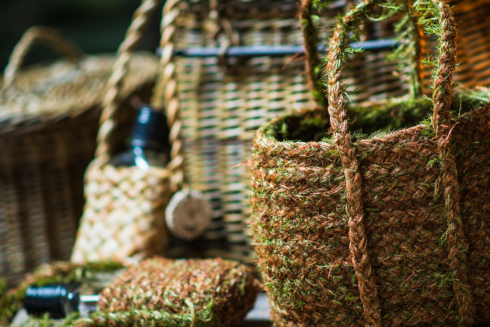 Highland Hairmoss Basket
