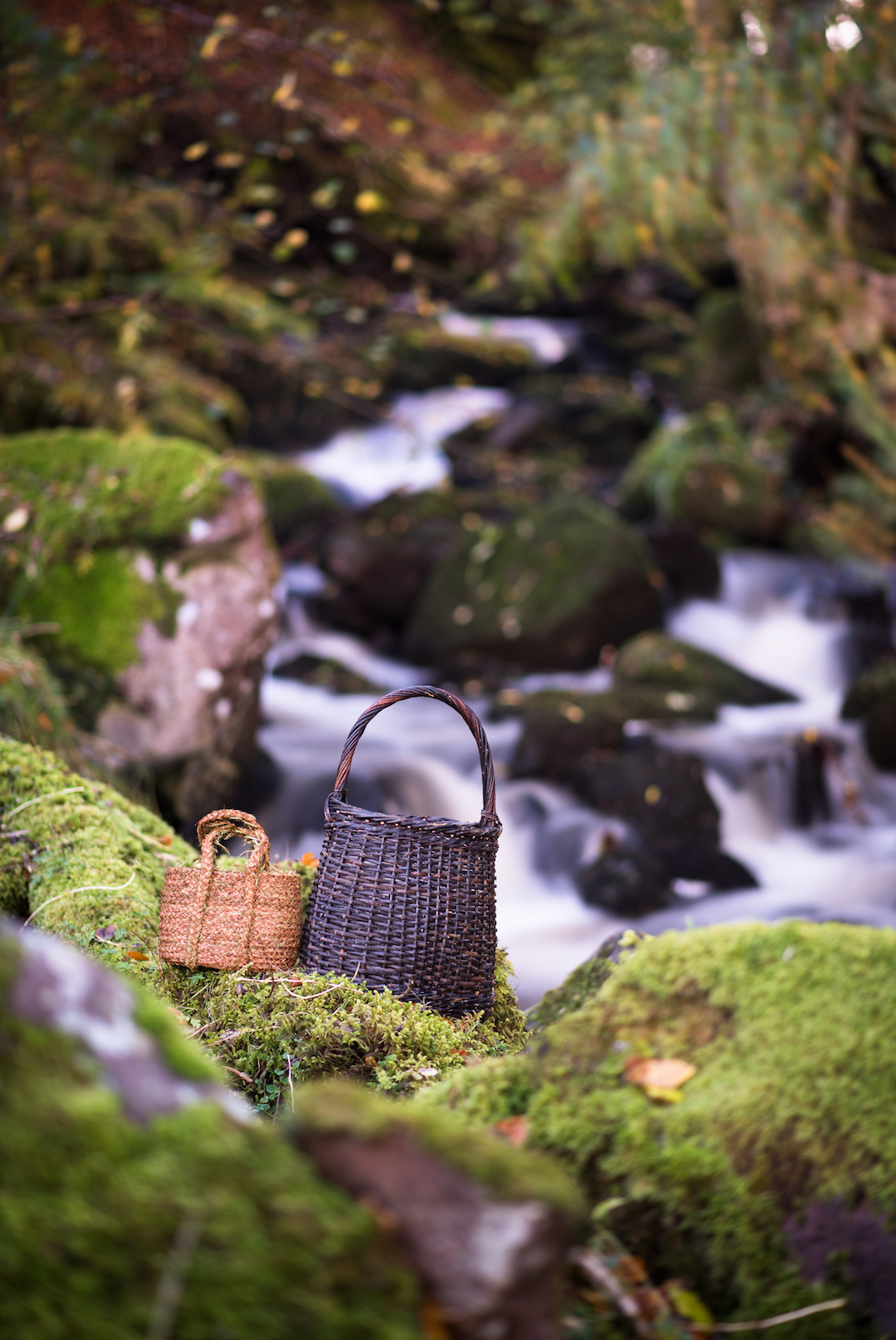 Highland Hairmoss Basket and Widow's Basket