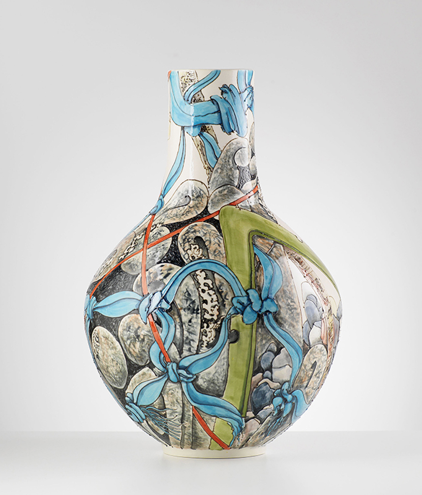 The Illustrative Ceramics of Peter Wareing MYOS4
