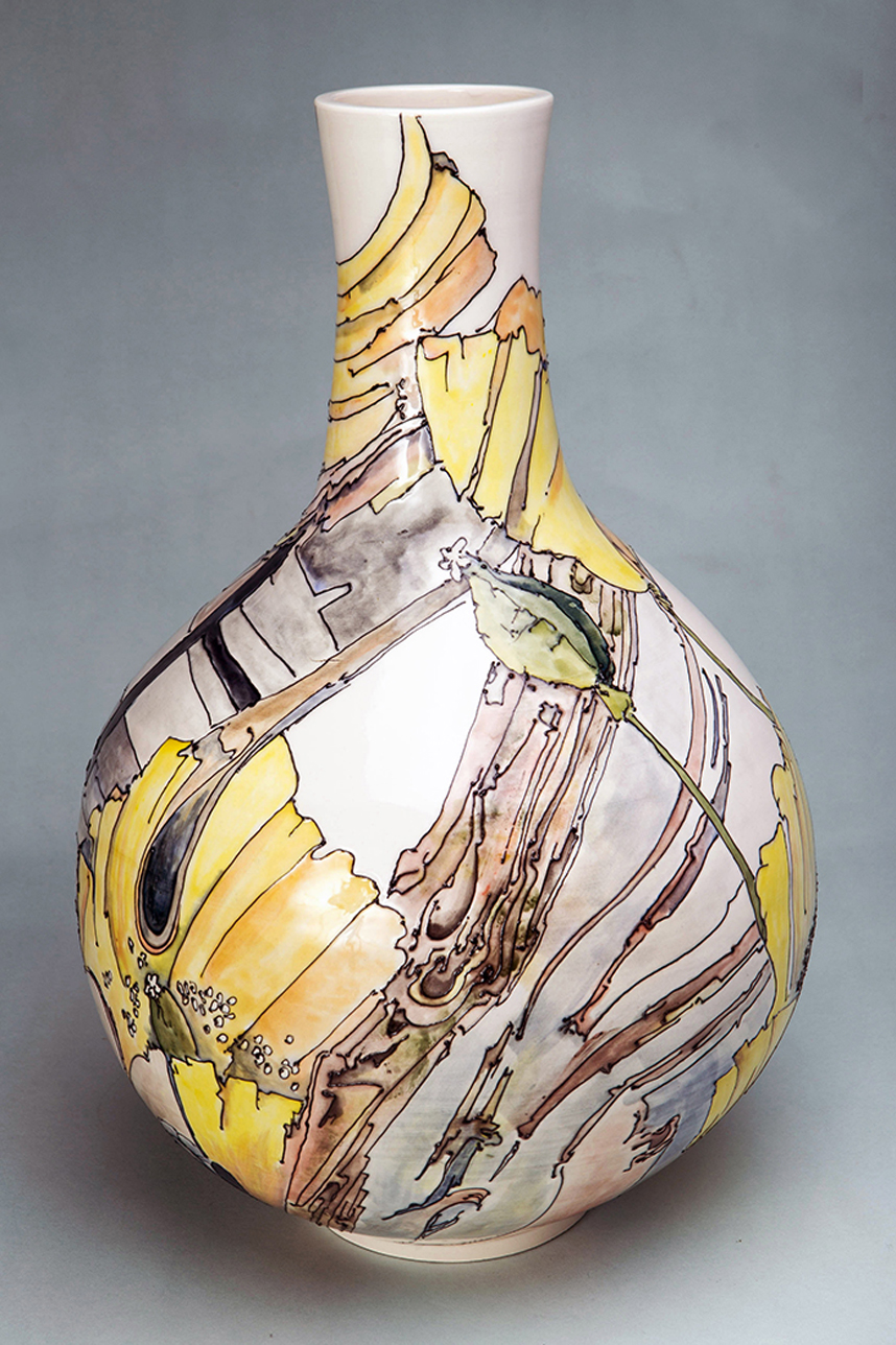 The Illustrative Ceramics of Peter Wareing MYOS01