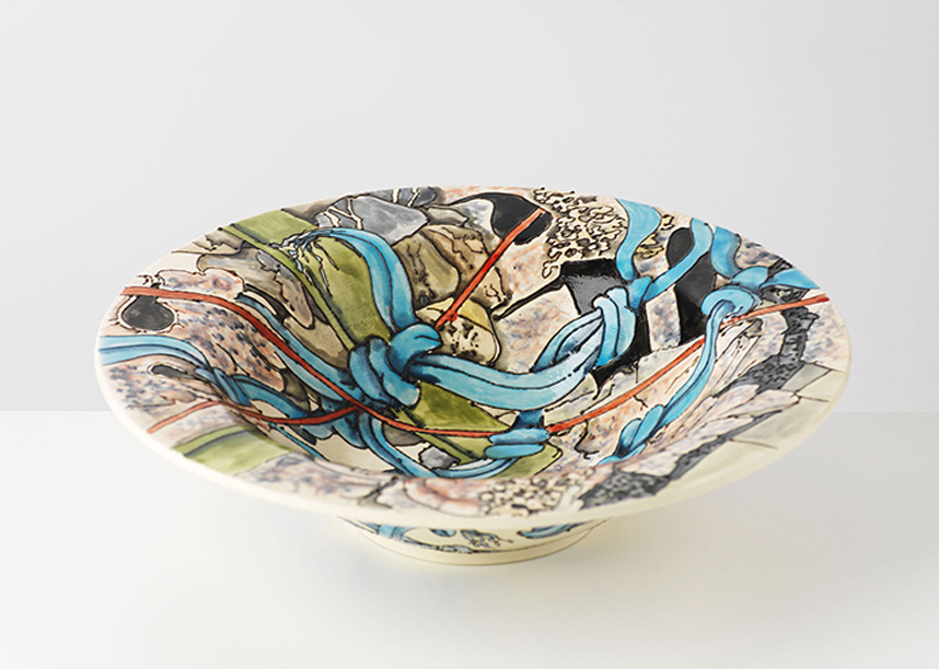 The Illustrative Ceramics of Peter Wareing MYOS02