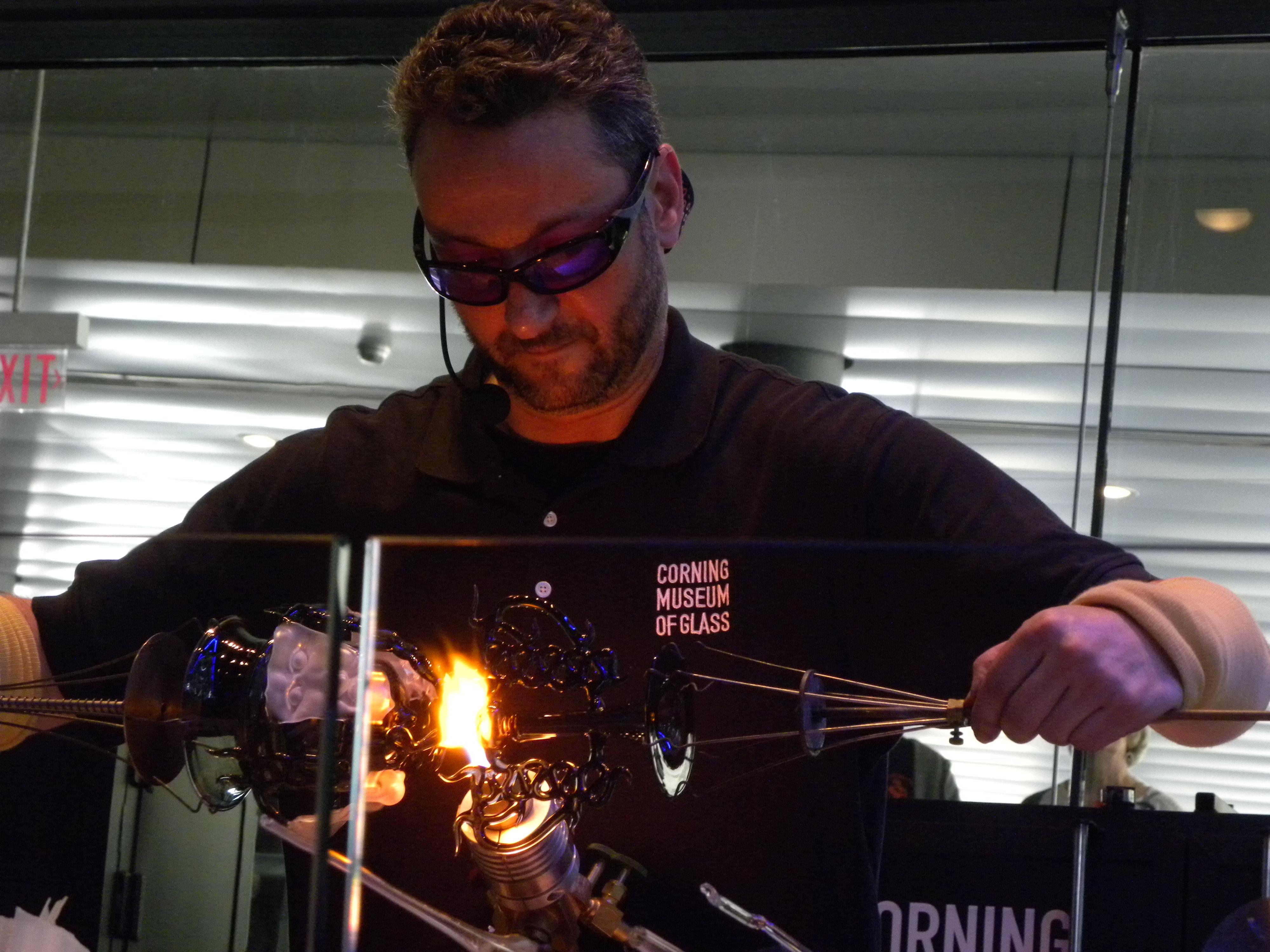 Eric Goldschmidt: Flameworked Borosilicate Goblets