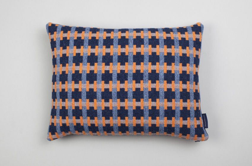 Heather Shields Harbour Puzzle Cushion