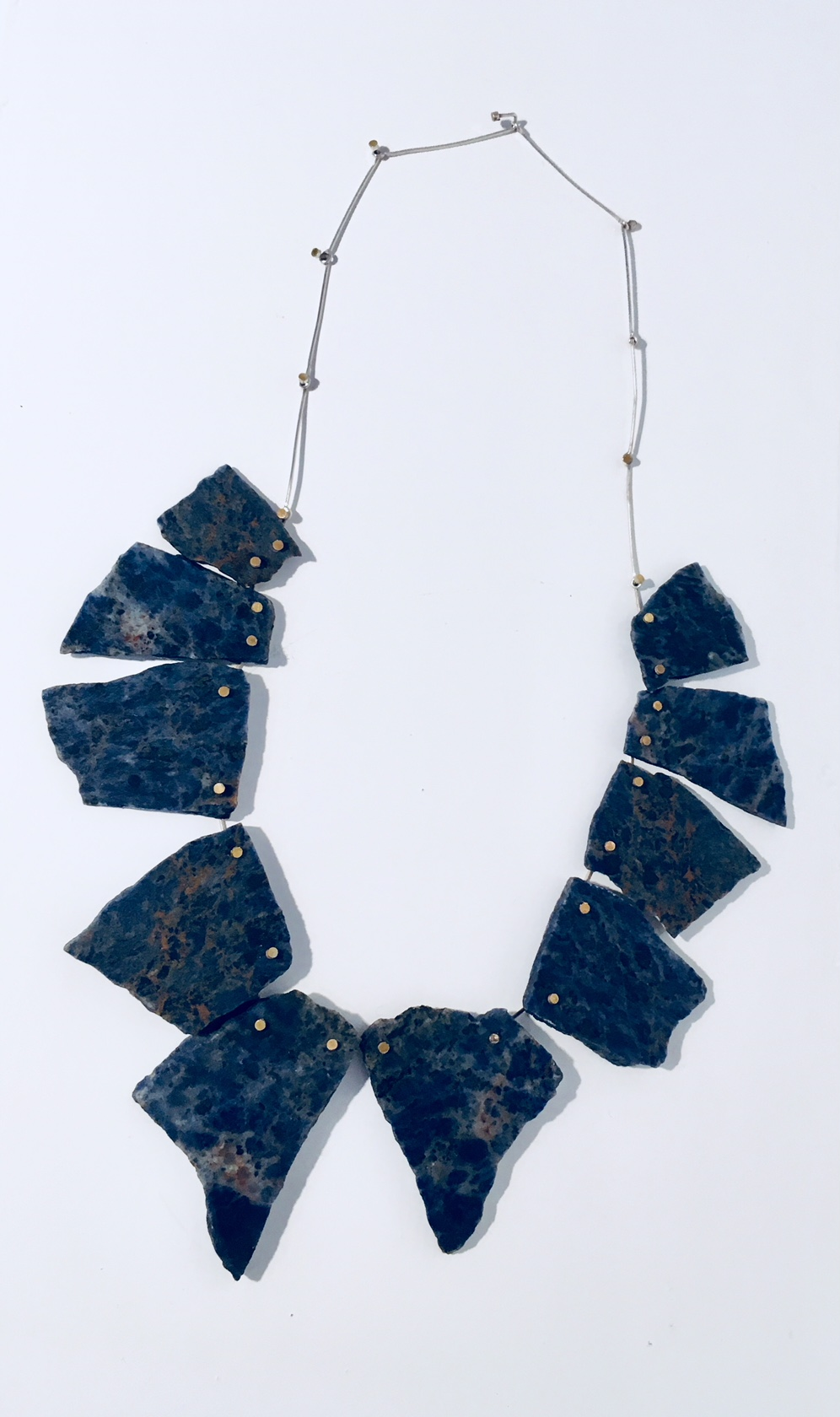 Lapis Lazuli Articulated Neckpiece