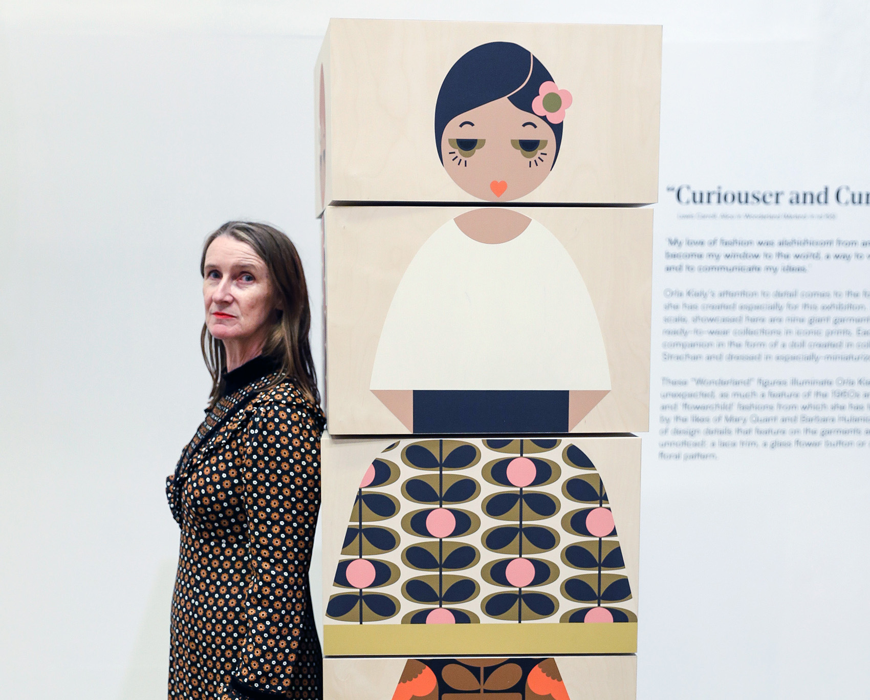 Exhibition Preview with Orla Kiely Image #0