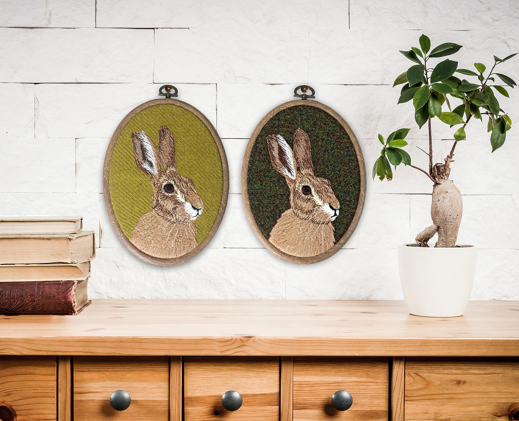 Hare hoop art