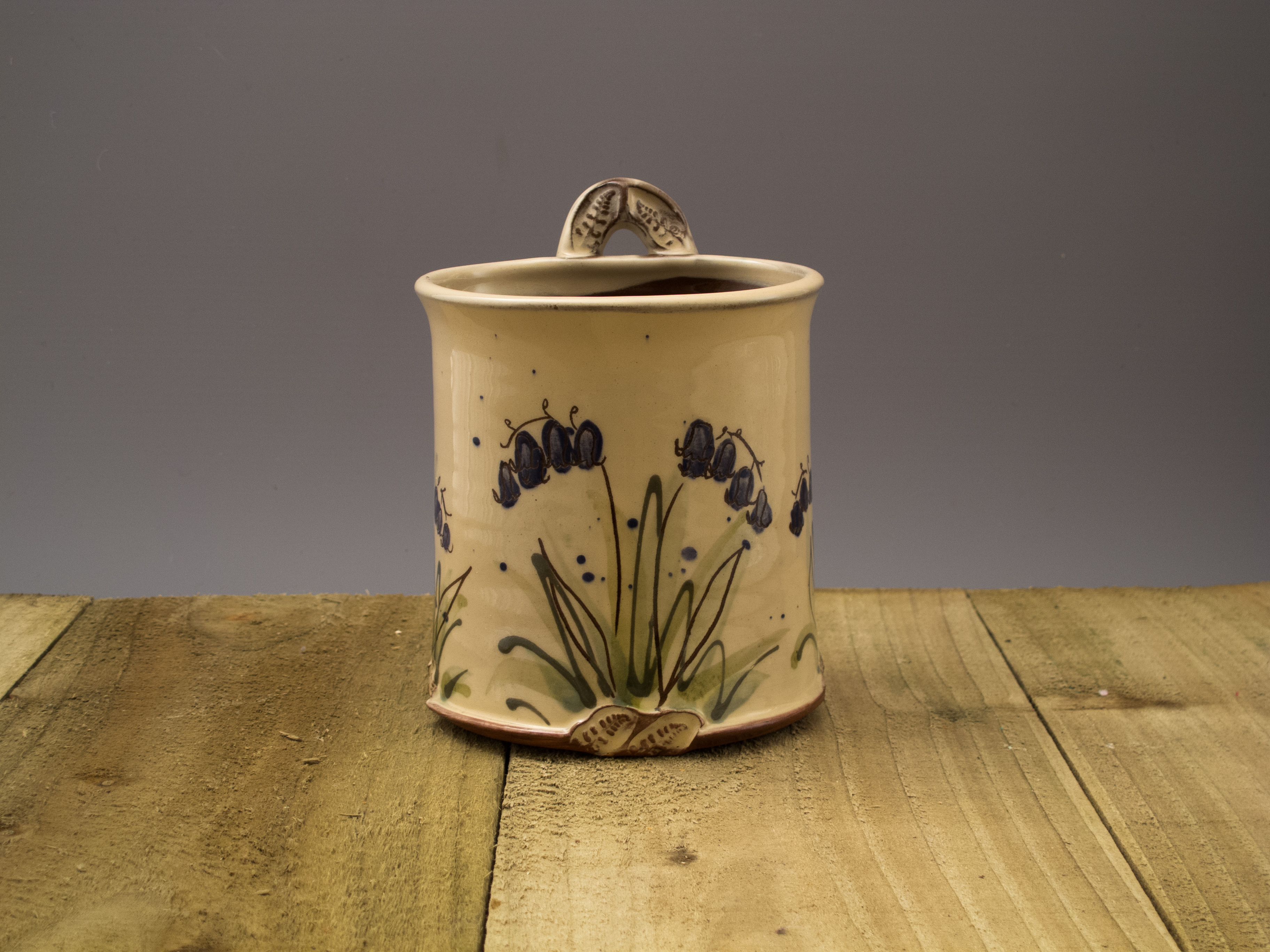 Hanging Bluebell Pot