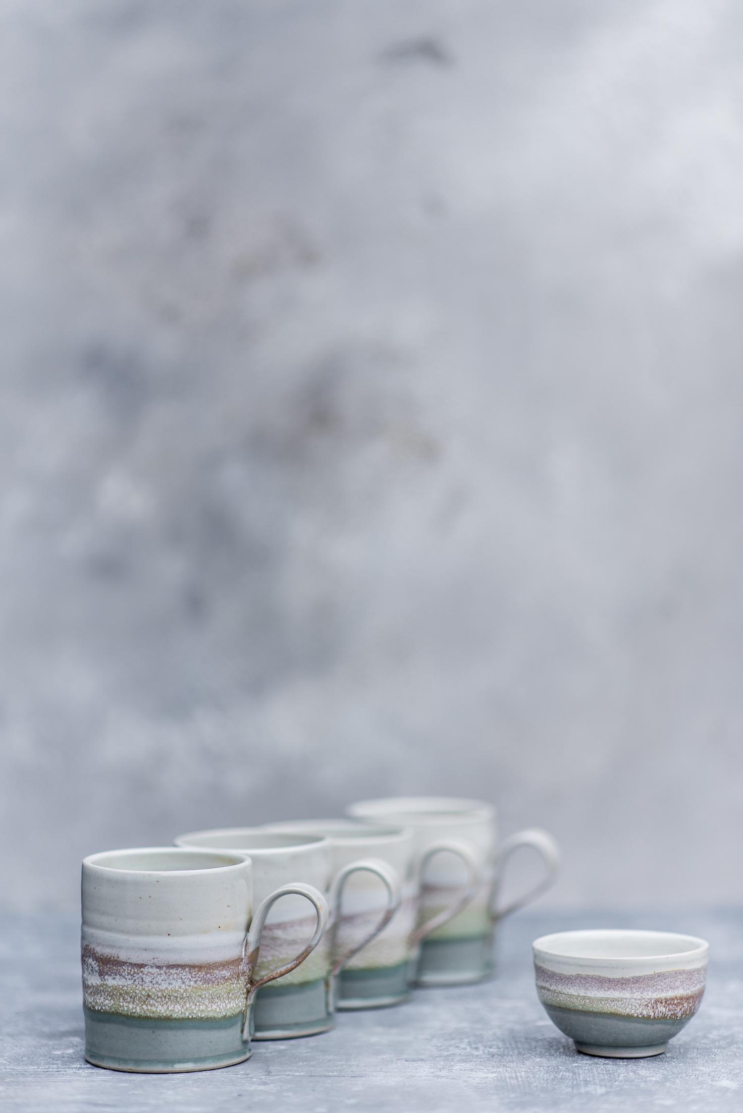 Mugs with Tiny Bowl