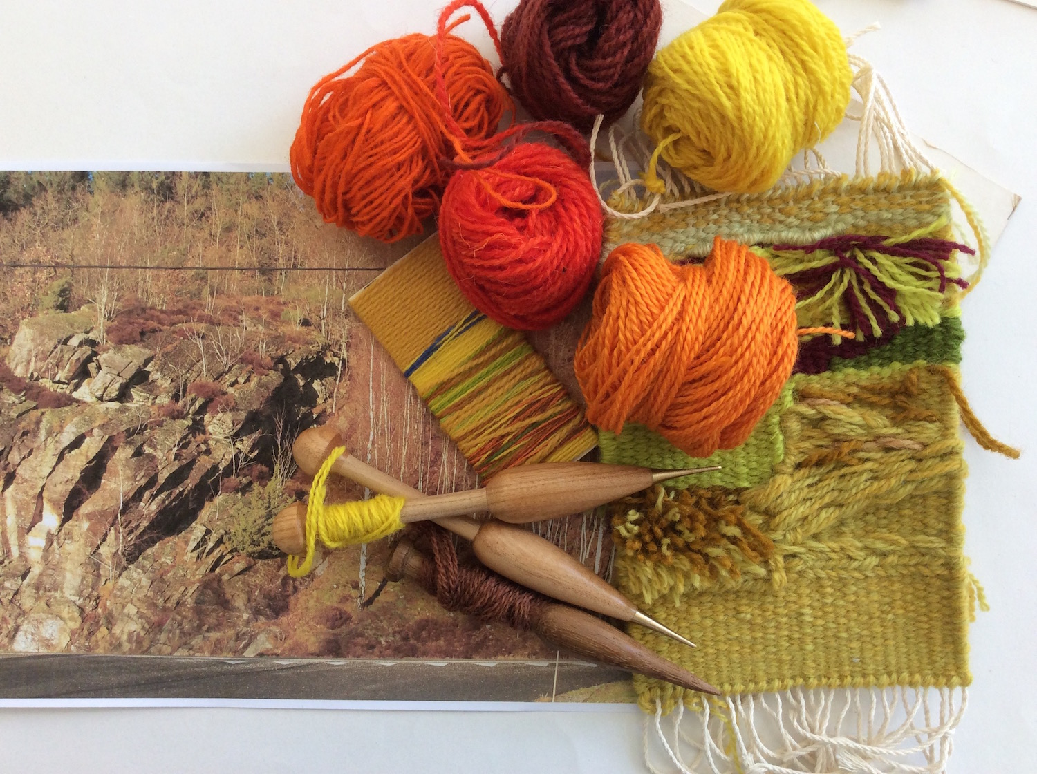 Tapestry workshops. Texture of the land 30th - 31st March 2019