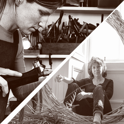Craft Scotland at Collect 2019 - Booth Talk - Anna Gordon and Lizzie Farey