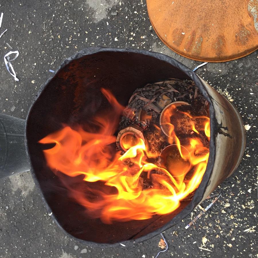 Raku Fired Ceramics
