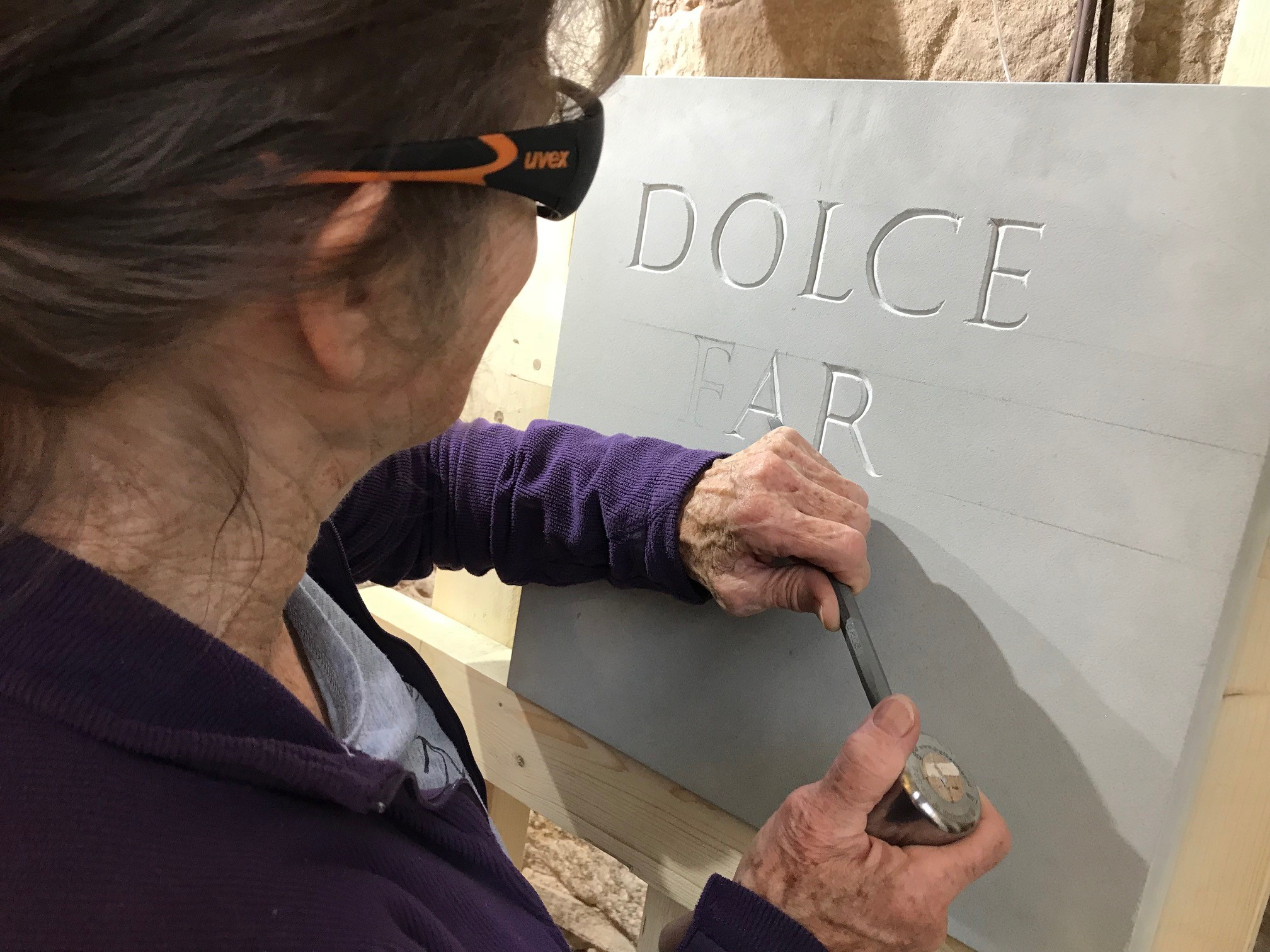 Stone Lettering Workshop Image #0