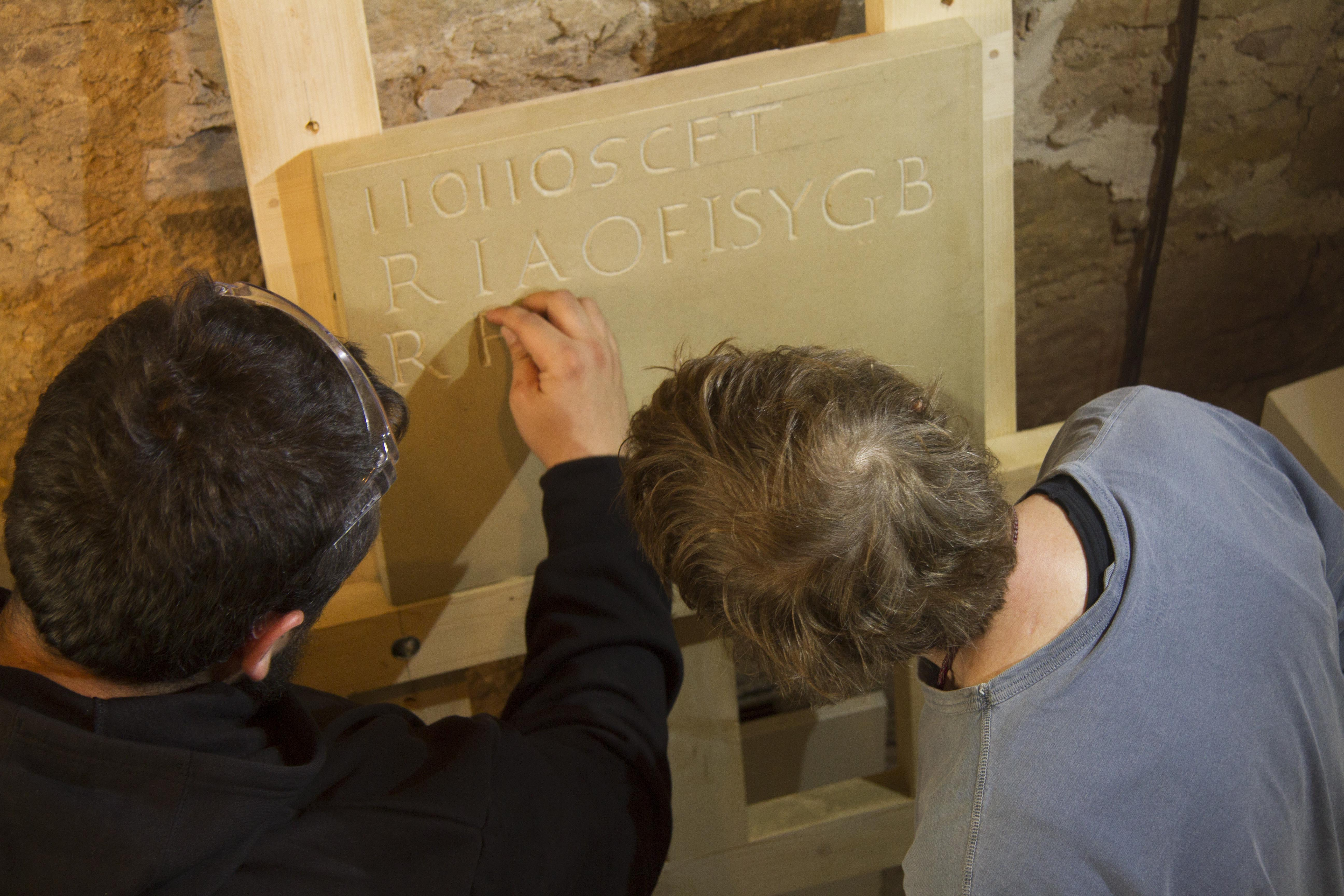 Stone Lettering Workshop Image #3