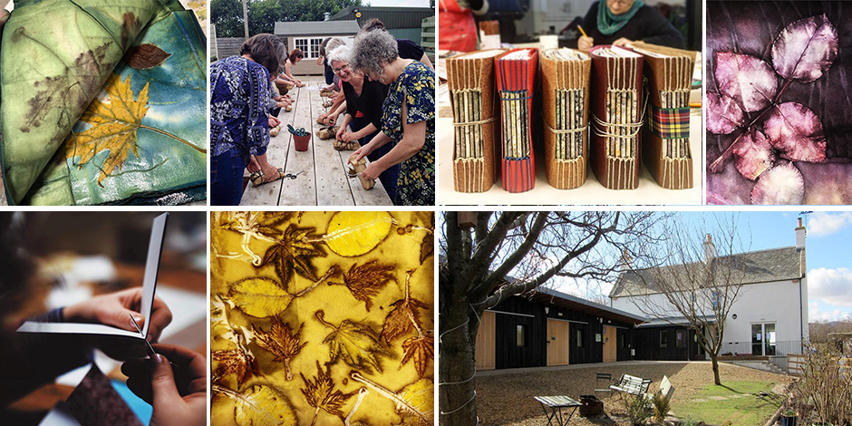 Eco-print, Dye & Stitch: A Creative Retreat