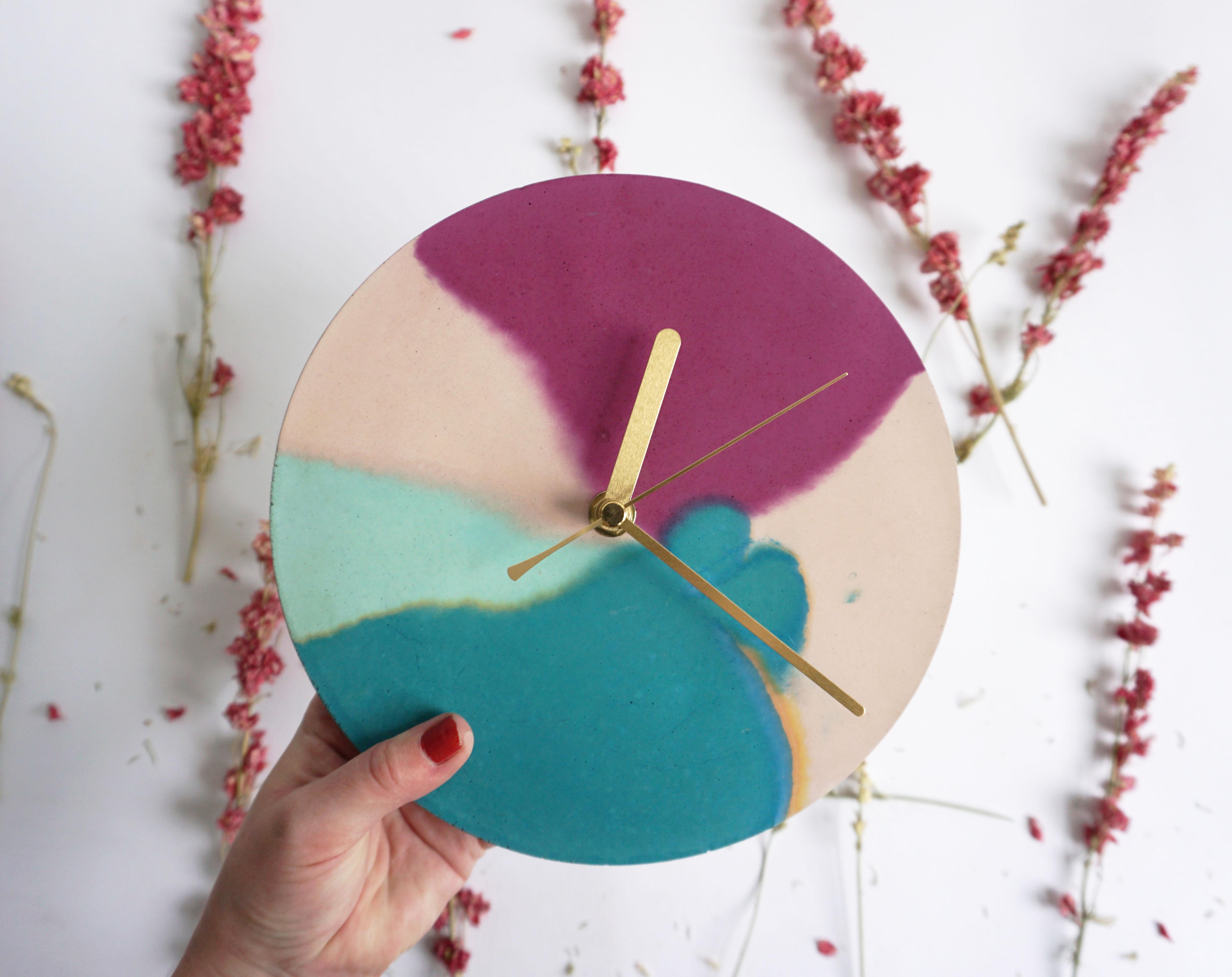 Deep Blossom Clock