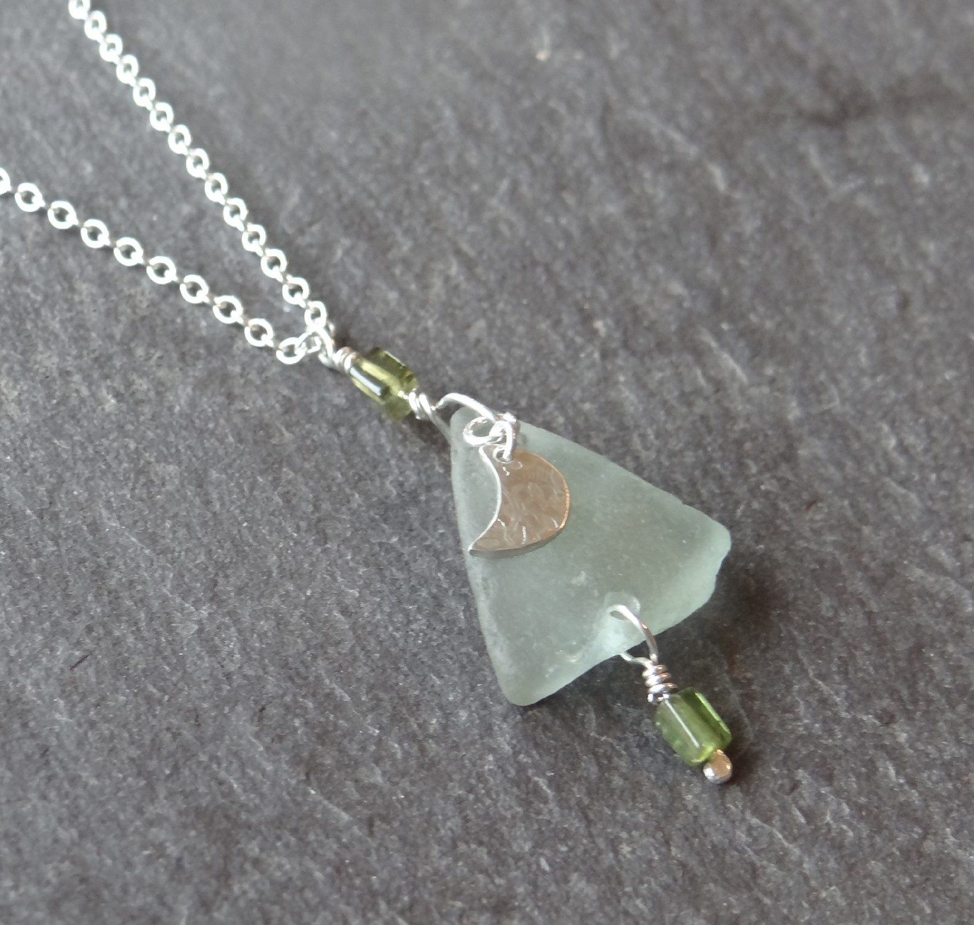 Make a Beach Glass & Silver Pendant Jewellery Workshop