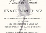 Call for Makers: Workshop spaces available