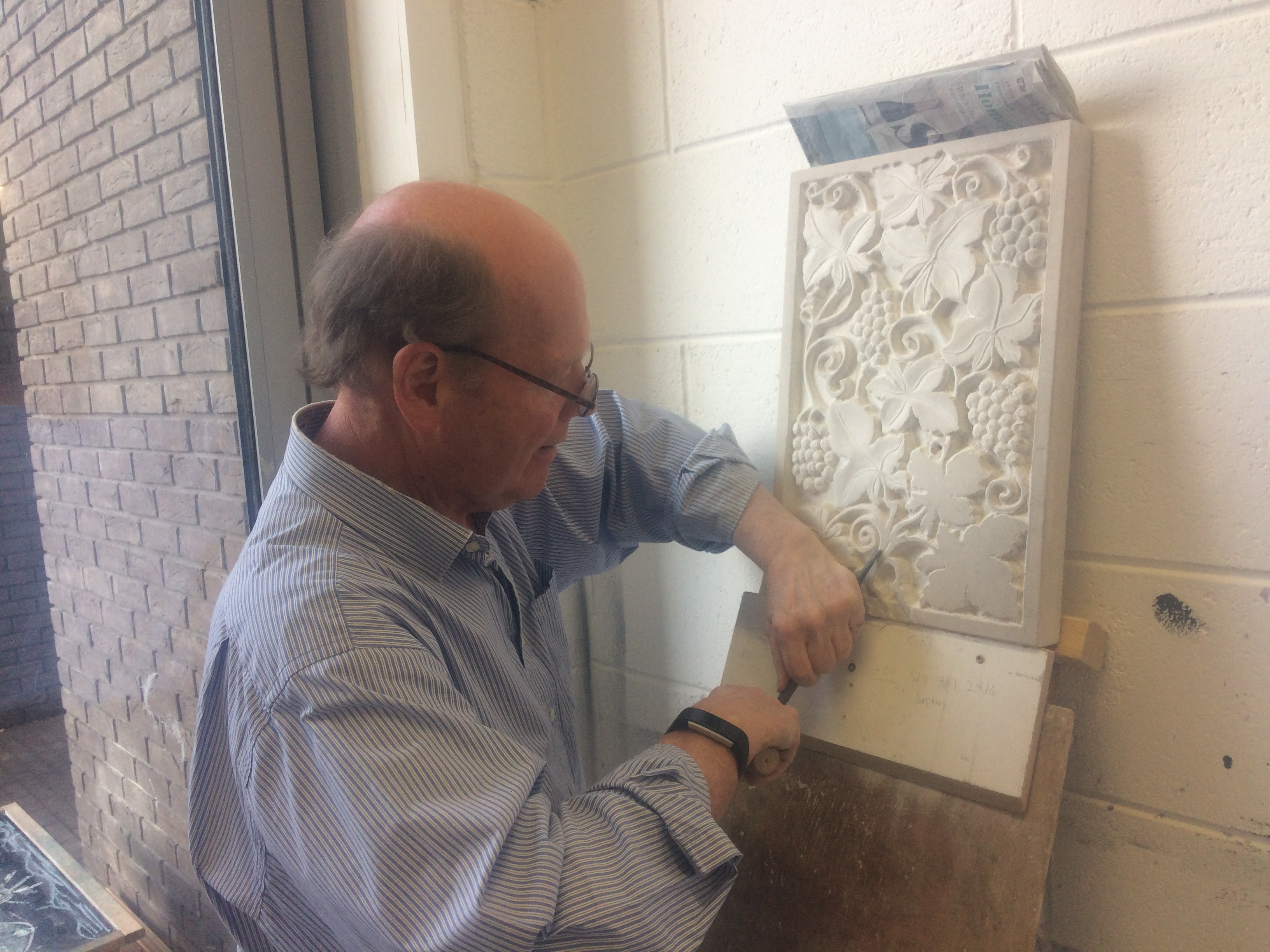 Two Day Stone Carving and Relief Course
