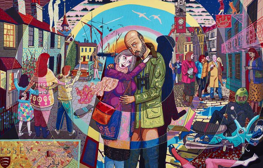 Grayson Perry Lunchtime Talk