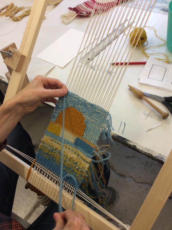 Exploring Woven Tapestry, Summer School