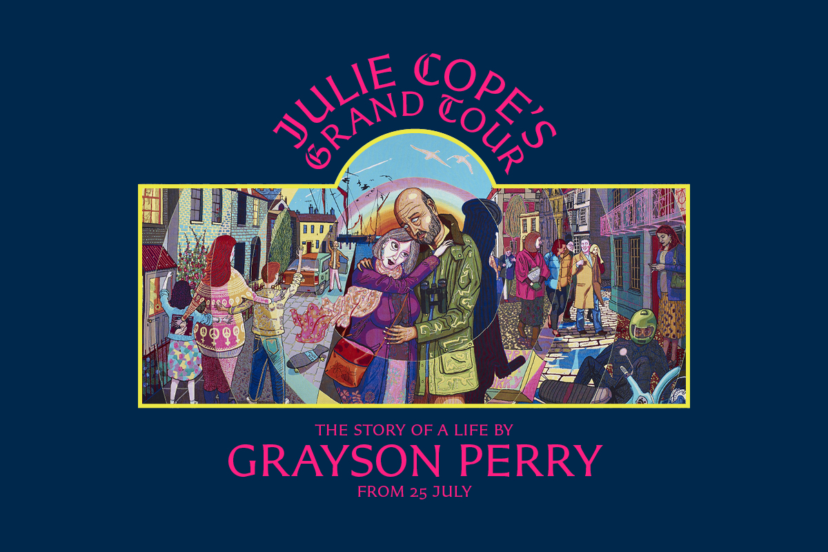 GRAYSON PERRY: Julie Cope's Grand Tour