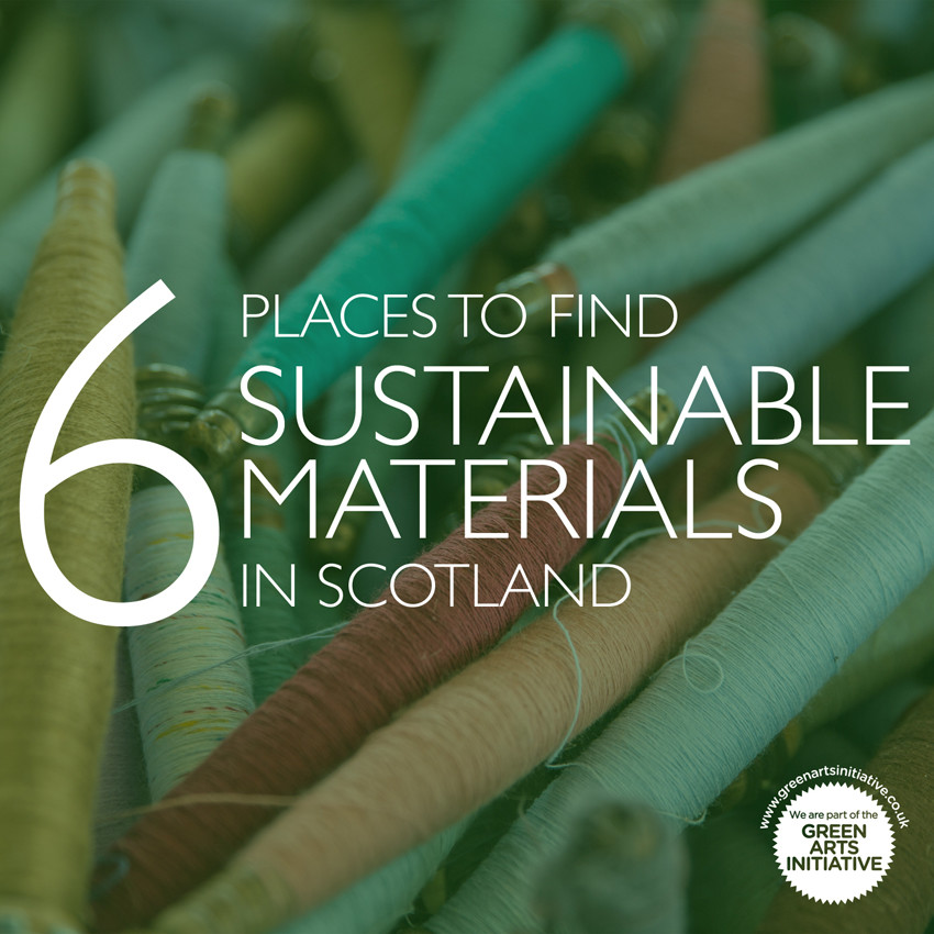 Six places to find sustainable materials in Scotland
