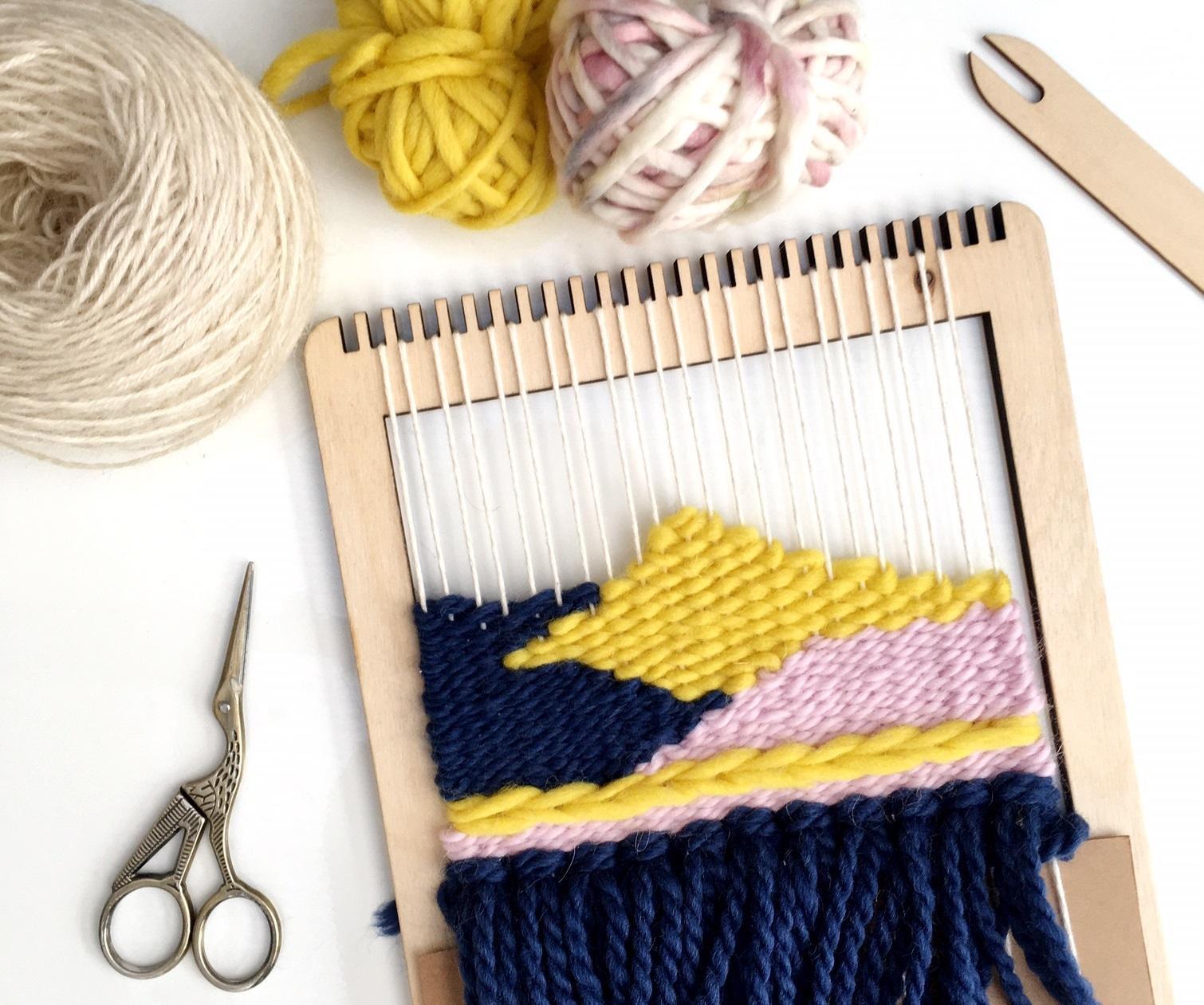 Craft Sunday: Coastal Weaving with Le Petit Moose