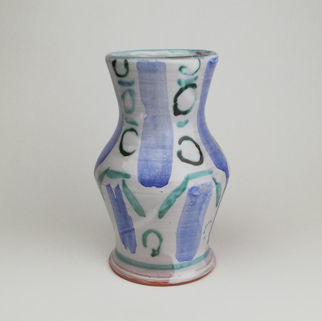 Ceramic surface: Maiolica and overglaze