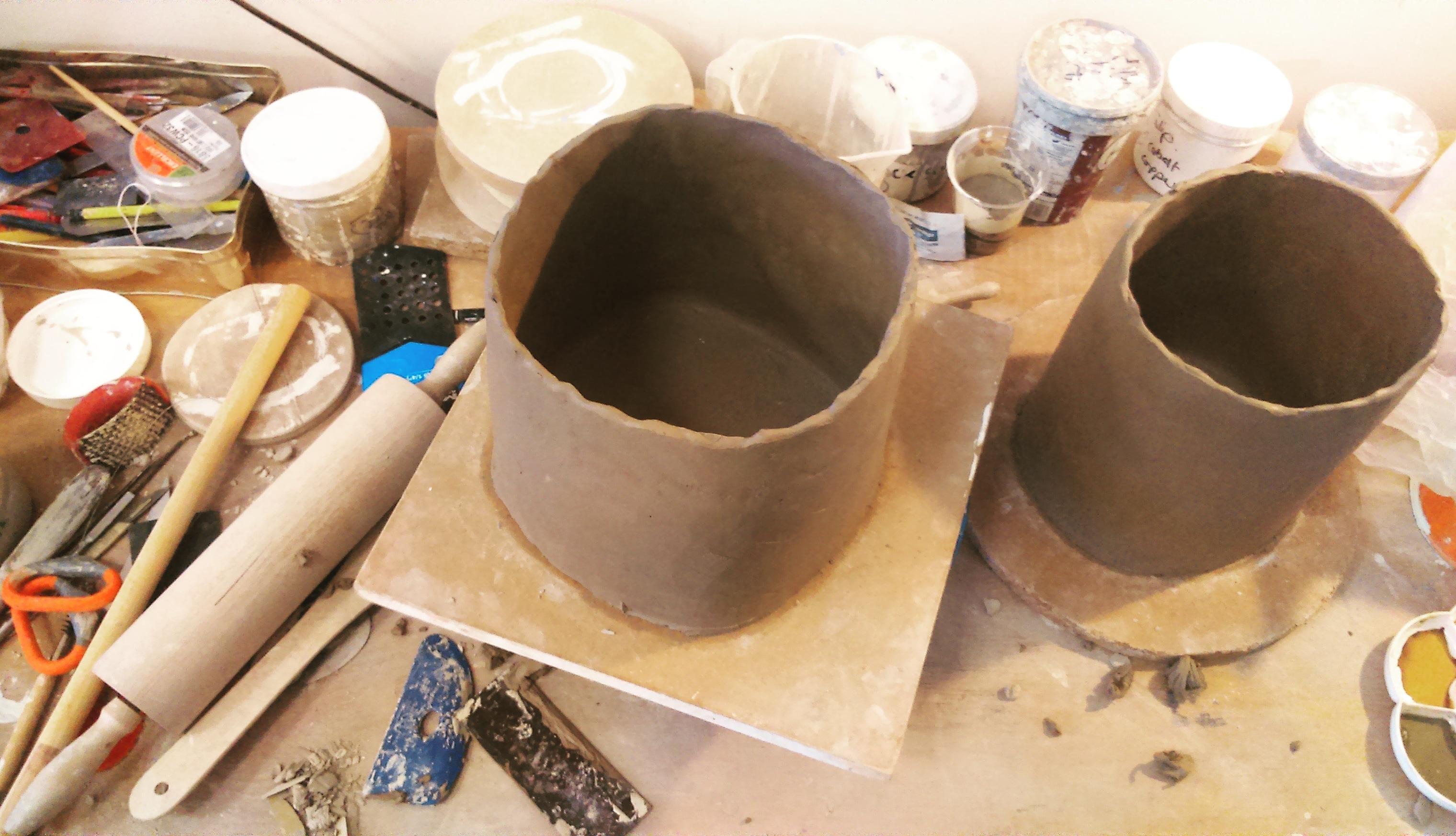 Ceramics: handbuilding and throwing masterclass