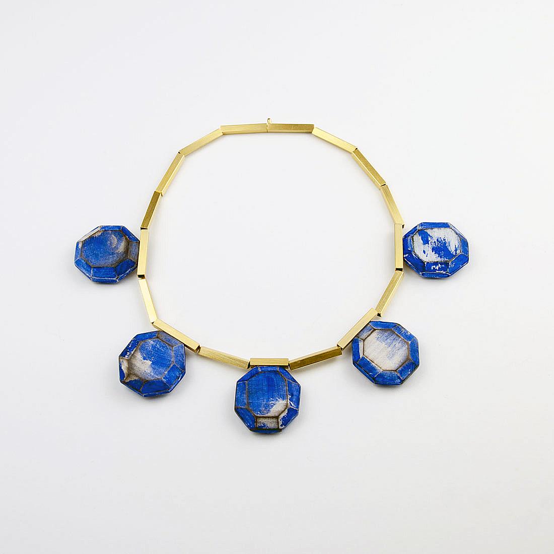 Cristina Zani, My Seoul gold and blue necklaceweb edited.jpg