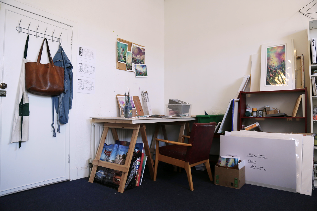 Workshop space in sunny Leith Image #0