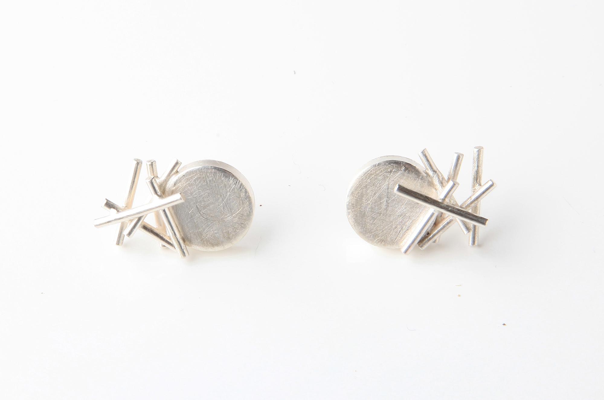 Cluster Buoy Earrings