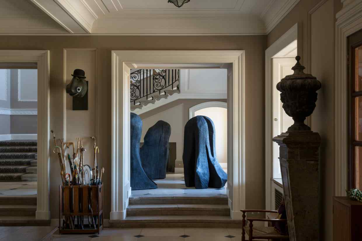 Marchmont House - Conversations in Wood - Exhibition