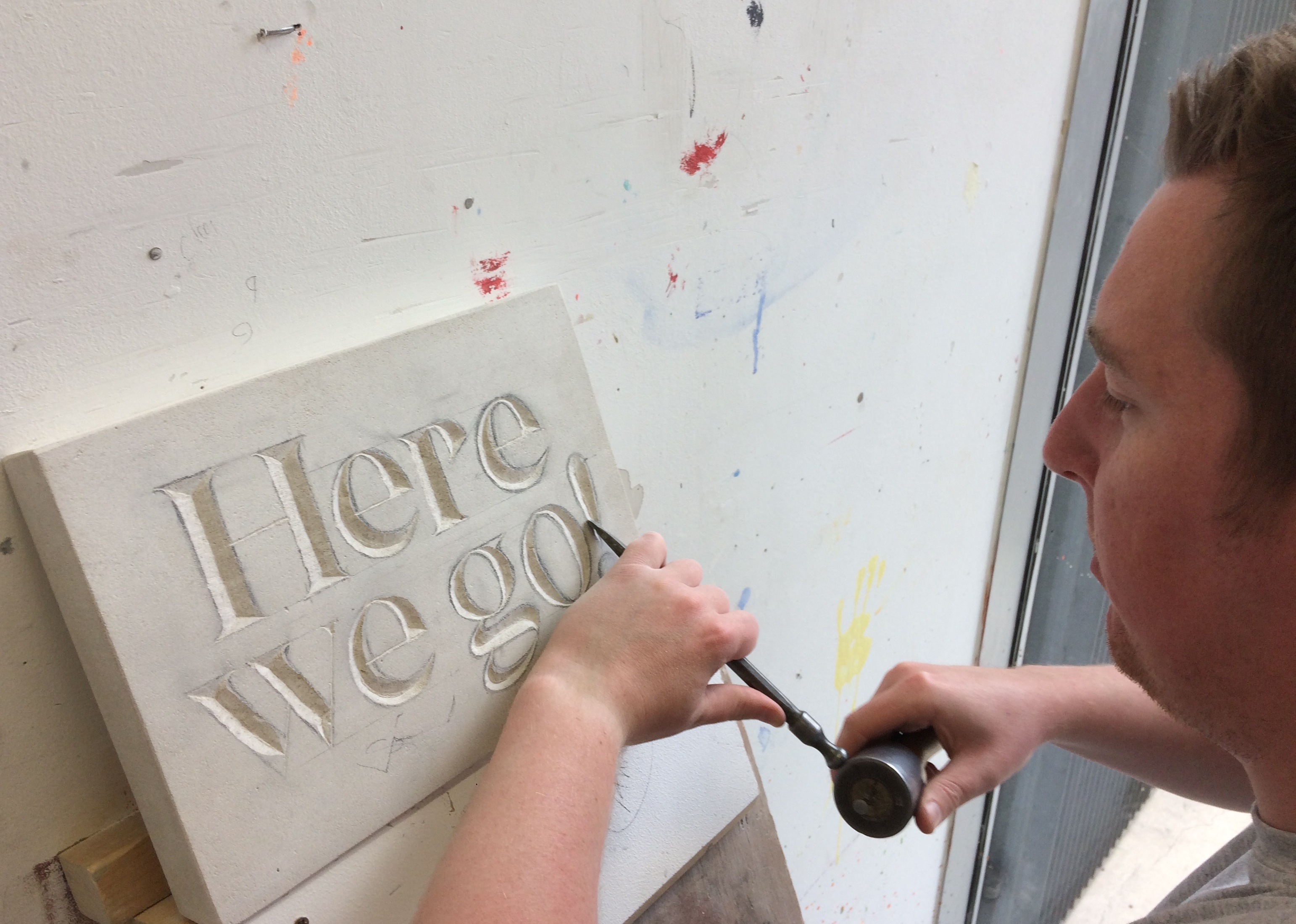 Two Day Introductory Stone Letter Carving Course