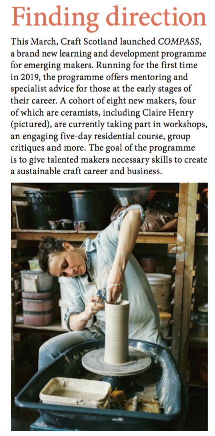 Ceramic Review June 2019 - Craft Scotland