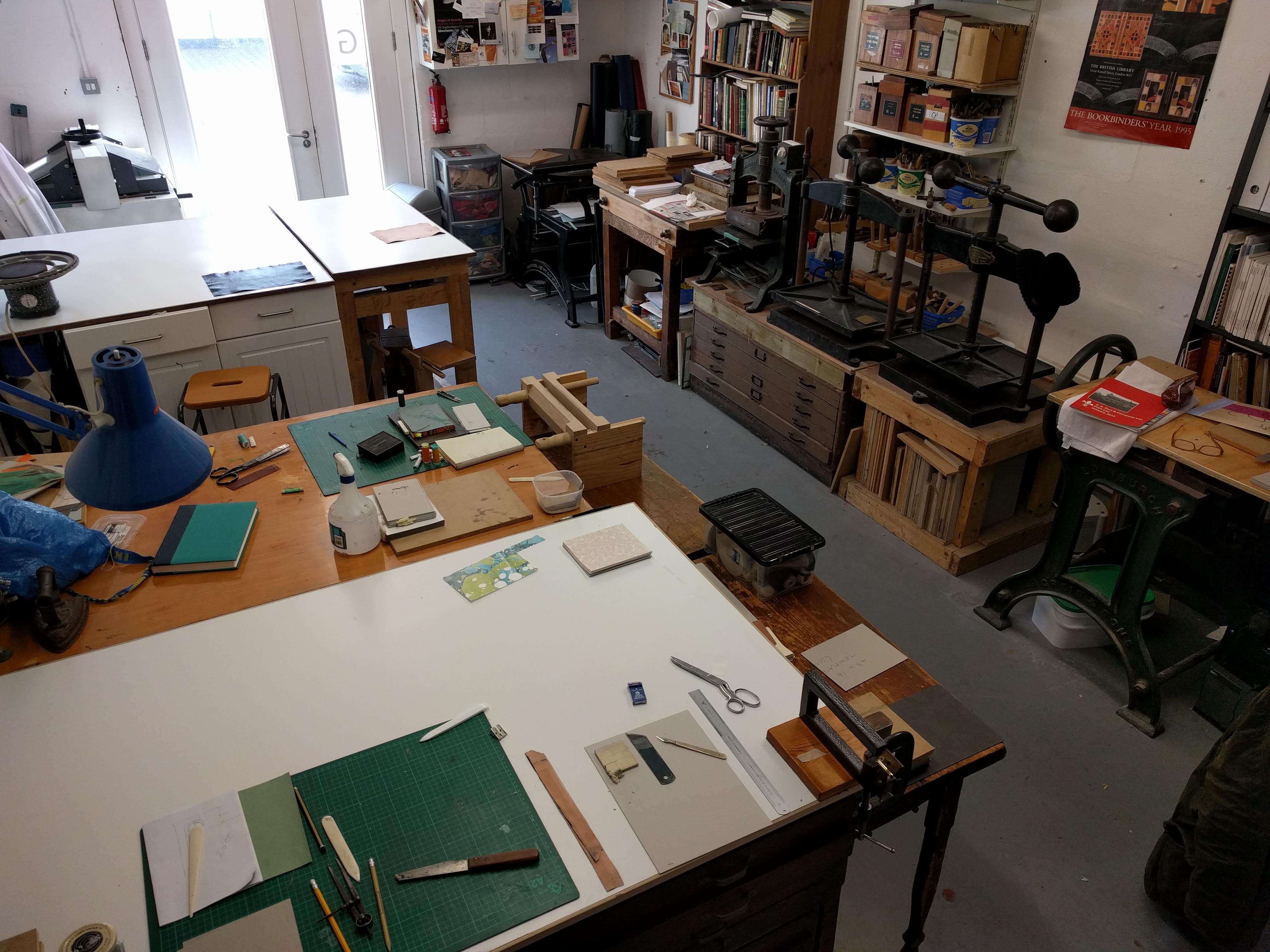 Bookbinding - 'Open House'